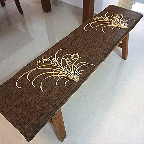 LIYANJIN Indoor Outdoor Swing Chair Cushion,Long Bench Seat Cushion,Chaise Lounger Cushion Patio Seat Cushion W Removable Cover B 30x60x3cm
