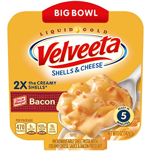 Memphis Mall Velveeta Bacon Shells Cheese Today's only Bowl oz. 5 Microwavable