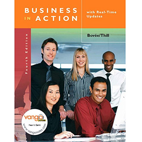 VangoNotes for Business in Action, 4/e audiobook cover art