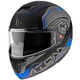 Mt Helmets Atom SV Quark A7 Matt Blue S