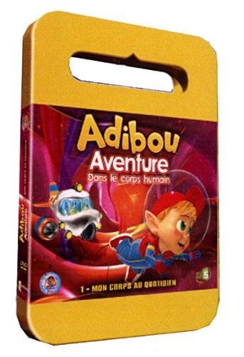 Adibou, aventure dans le corps humain, vol. 1 : mon corps au quotidien [FR Import]