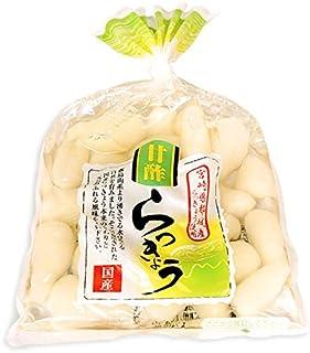 国産甘酢らっきょう (宮崎県産) 130g袋入り