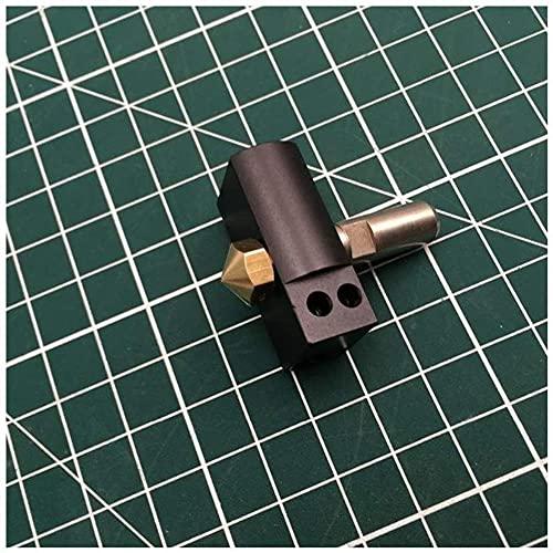 Parti della stampante 3D Parti della stampante 3D Duplicatore Wanhao 6 D6 Kit hot-end con tubo in PTFE Ugello da 0,4 mm D6 Estrusore stampante 3D Wanhao I3 (Colore: predefinito) Stabilità