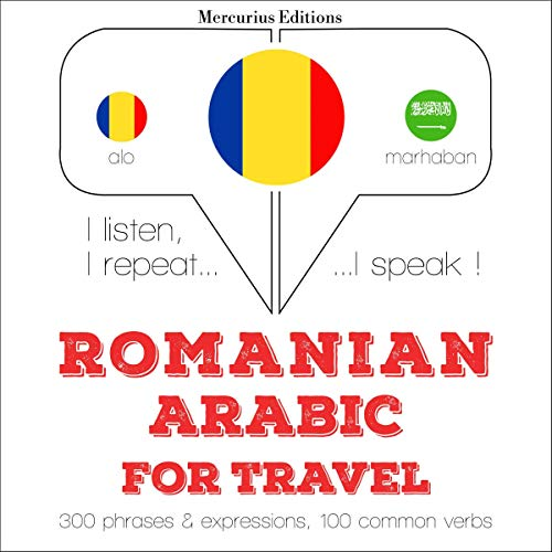 Couverture de Romanian - Arabic. For travel