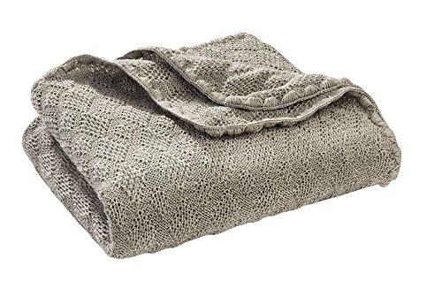Disana Babydecke 80 x 100 cm aus Merino-Schurwolle kbT, Grau