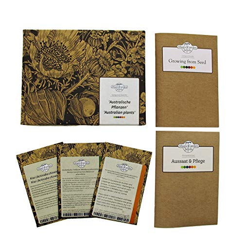 Australische Pflanzen - Samen-Geschenkset mit 3 typischen Sorten aus Down Under