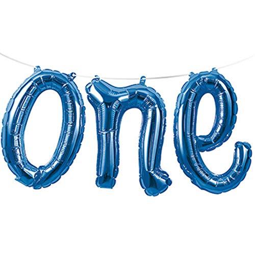 Creative Converting One Air Balloon Banner Party Supplies, Multicolor