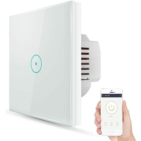 Smart Home WIFI Lichtschalter Touch Wandschalter APP Fernbedienung Alexa Google