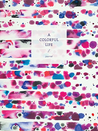 A Colorful Life Journal (Watercolor Artist Notebook, Multipurpose Journal for Writing and Painting)