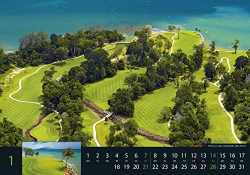 Golf 2018 – Sportkalender / Golfkalender international (49 x 34) - 3