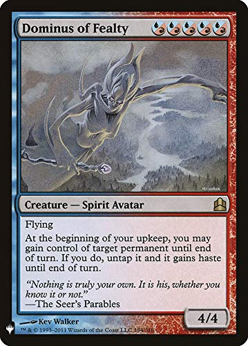 Magic: The Gathering - Dominus of Fealty - Mystery Booster - Commander