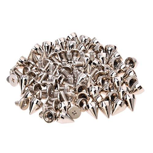 50 ¡Á Clous metalliques a cone pour decorer les chaussures, les vetements...