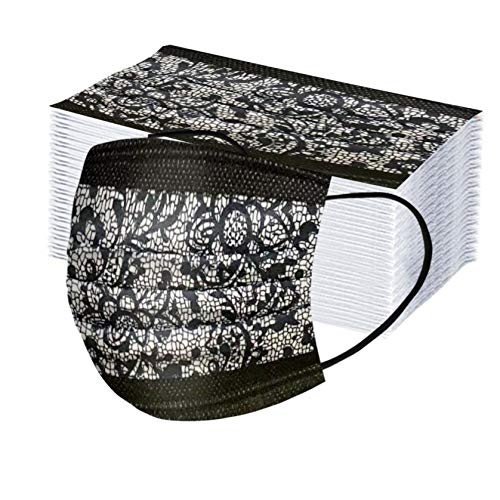 50 x Weihnachten Spitze Mundschutz, Staubschutz – aus Vlies (50 Stück B)