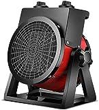Gymqian Lámpara de Calor Exterior Calentador de Patio, 2Kw Acero Inoxidable Portátil Al Aire Libre Al Aire Libre Ajustable Calentadores Adecuados para Interiores Y Exteriores-A, a r