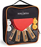 PRO SPIN Ping Pong Paddles - High-Performance 4-Player Set | Premium Table Tennis Paddles, 3-Star Ping Pong Balls, Compact Storage Case | Ping Pong Paddles Set of 4 for Indoor & Outdoor Games ping pong paddle penhold Dec, 2020