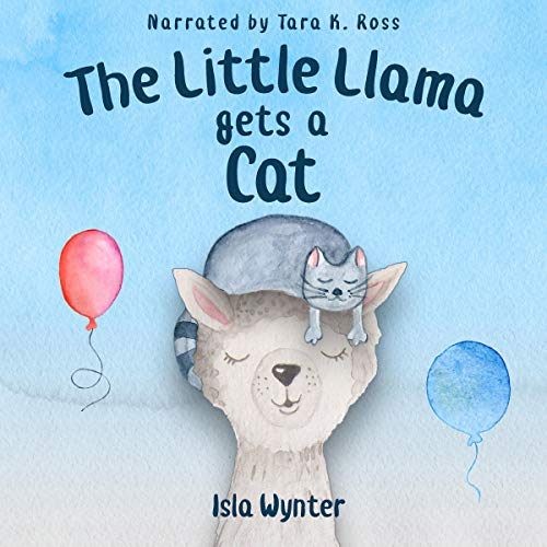 The Little Llama Gets a Cat  By  cover art
