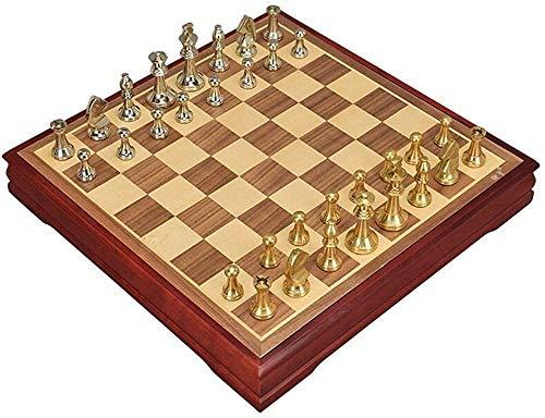 Ajedrez para tablero harry potter viaje Piezas de ajedrez de aleación de zinc de metal de ajedrez conjunto de mesa de almacenamiento de madera para adultos juegos de entretenimiento al aire libre LPRE