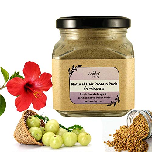 Ancient Living Natural Hair Protein Pack For Healthy Strong Hair - 100 gm