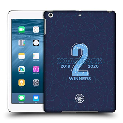 Official Manchester City Man City FC Back To Back 2020 Women's Championship Cup Hard Back Case Compatible for Apple iPad Air (2013)