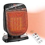 Space Heater Digital Electric Heater...