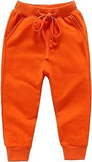 ALALIMINI Boys Sweatpants Active Jogger Pants Unisex Girls Casual Elastic Drawstring Cotton 2-12 Trousers
