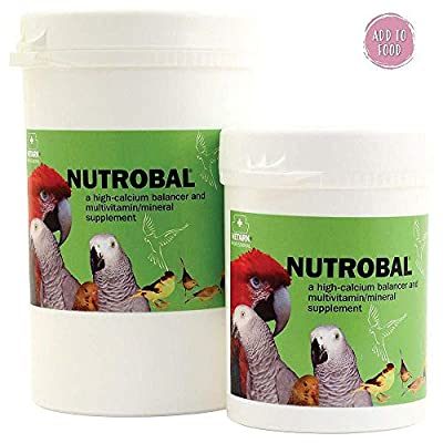 Nutrobal Powdered Calcium & D3 Bird Supplement - 250g from Northern Parrots