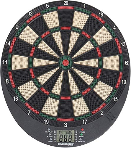 Arachnid Bullshooter Lightweight Electronic Dartboard with LCD Scoring Displays, Heckler Feature,...