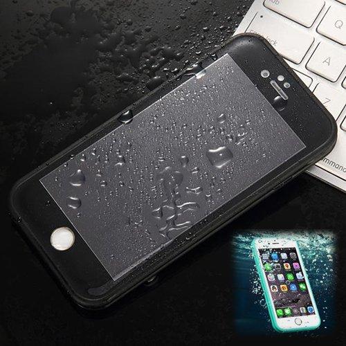 Donkeyphone Carcasa ACUATICA Ultrafina Negra para iPhone 6 Y 6S (4,7') Pulgadas - Funda Sumergible Waterproof