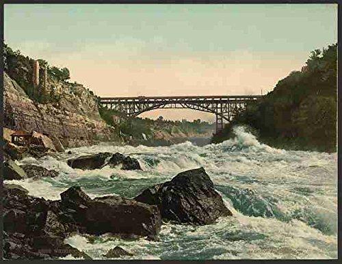 Blechschild Whirlpool Rapids suchen Niagara A4 12 x 8, Aluminium