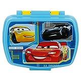   Cars - Disney   Sandwichera Para Niños Decorada - Fiambrera Infantil   Caja Para El Almuerzo Y Porta Merienda Para Colegio - Lonchera