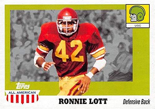 Ronnie Lott football card (USC Trojans) 2005 Topps All American #52