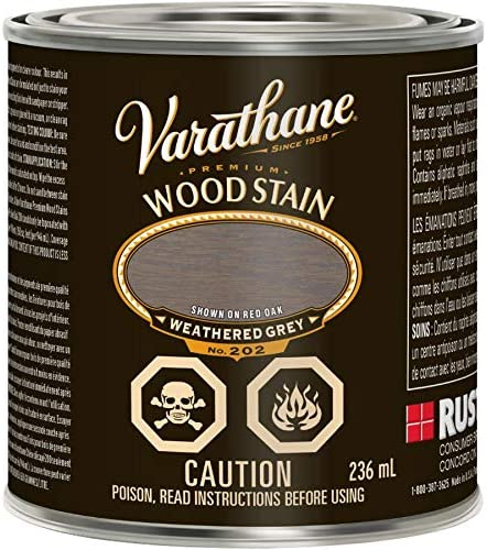 236mL New popularity Premium Weathered Grey Alkyd Wood Stain Super special price