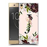 Official Nature Magick Letter J Rose Gold Flowers Monogram