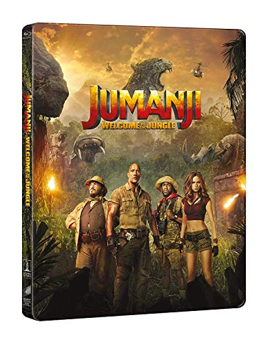 Jumanji: Benvenuti nella Giungla - Steelbook (Blu-Ray) () ( Blu Ray) [Italia] [Blu-ray]
