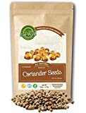 Eat Well Premium Foods - Coriander Seeds Whole 16 oz Reseable Bag ,100% Natural, Freshly Packed