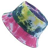 MaxNova Tie dye Bucket Hats for Women Teens Girls