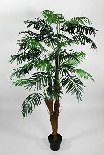 Seidenblumen Roß Arekapalme Kokosstamm 180cm ZJ künstliche Palmen Palme Kunstpalmen Kunstpflanzen Dekopalme