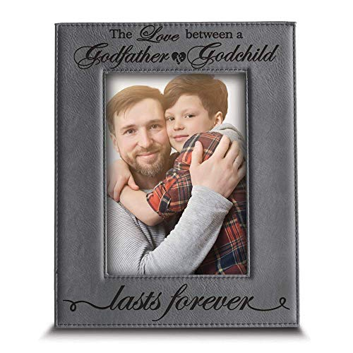 Love a Between Godfather and Godchild Lasts Forever-Birthday, Christmas,...