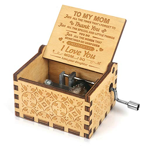 "Mom ""You Are My Sunshine"" Music Box"