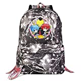 ZZGOO-LL Assassination Classroom with Chain USB Mochila Backpack Casual Impermeable Viaje de Negocios con Unisex Light Grey-A
