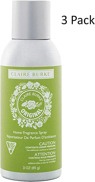 Claire Burke Original Home Fragrance Spray 3OZ Bundled With Pearsons Stain Remover Pack Size
