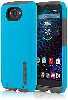 Motorola Droid Turbo Case, Incipio [Shock Absorbing] DualPro Case for Motorola Droid Turbo-Cyan/Gray