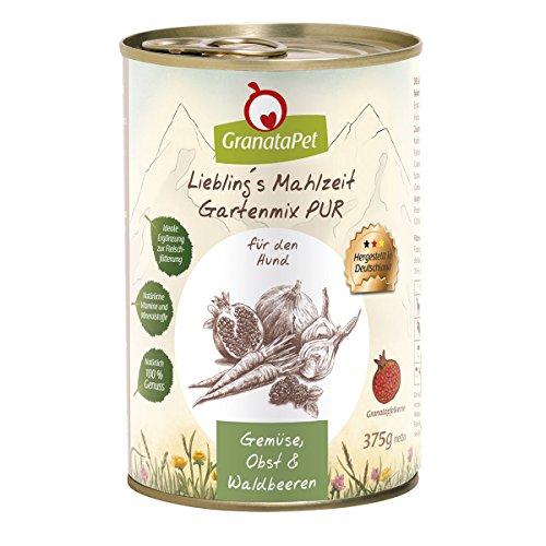 Liebling´s Mahlzeit Preferito S pasto da Giardino Mix Pur, Confezione da (6X 375G)