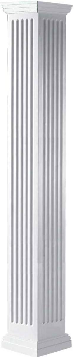 Ekena Classic Millwork CC0604ENFTUTU White Column gift