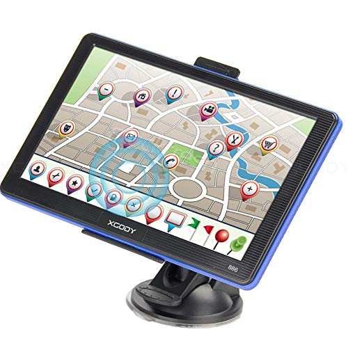 Great Price! Truck GPS Navigation System Xgody 886 7 Inch Capacitive Touch Screen SAT NAV Navigator ...
