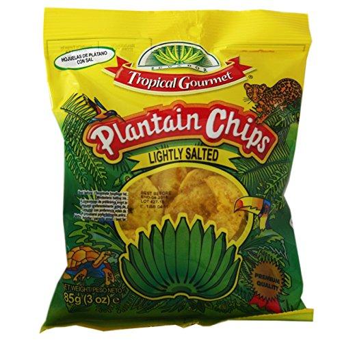 20x85g Sparen! Plantain Chips Kochbananen Chips leicht gesalzen