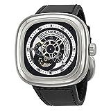 Seven Friday P1-1 - Reloj, Correa de Cuero Color Negro