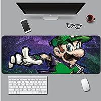 マリオ大型マウスパッド、大型ゲーミングマウスパッド、低摩擦、耐久性と高強度、厳選されたマウスパッド、防水、滑り止め、快適な操作