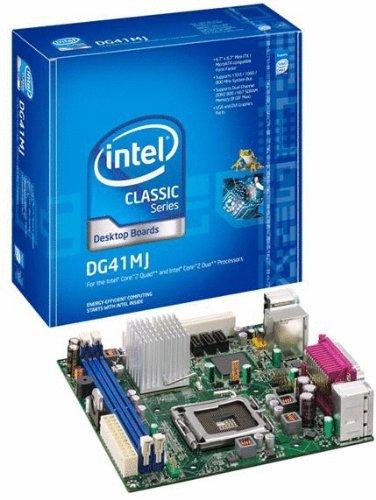 Intel DG41MJ Classic Series G41 mini-ITX Intel Graphics DVI+VGA 1333MHz LGA775 Desktop Motherboard