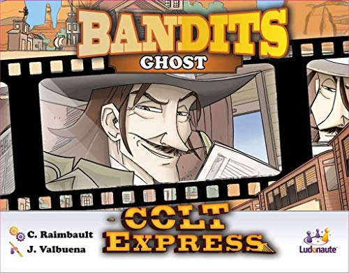 Asmodee- Colt Express: Bandits Pack Ghost Expansion en Castellano, Color (LUCOEX09NA)